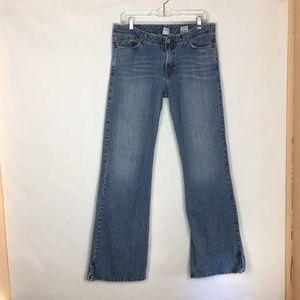 Lucky Brand Size 12/31 Long length Flare Jeans